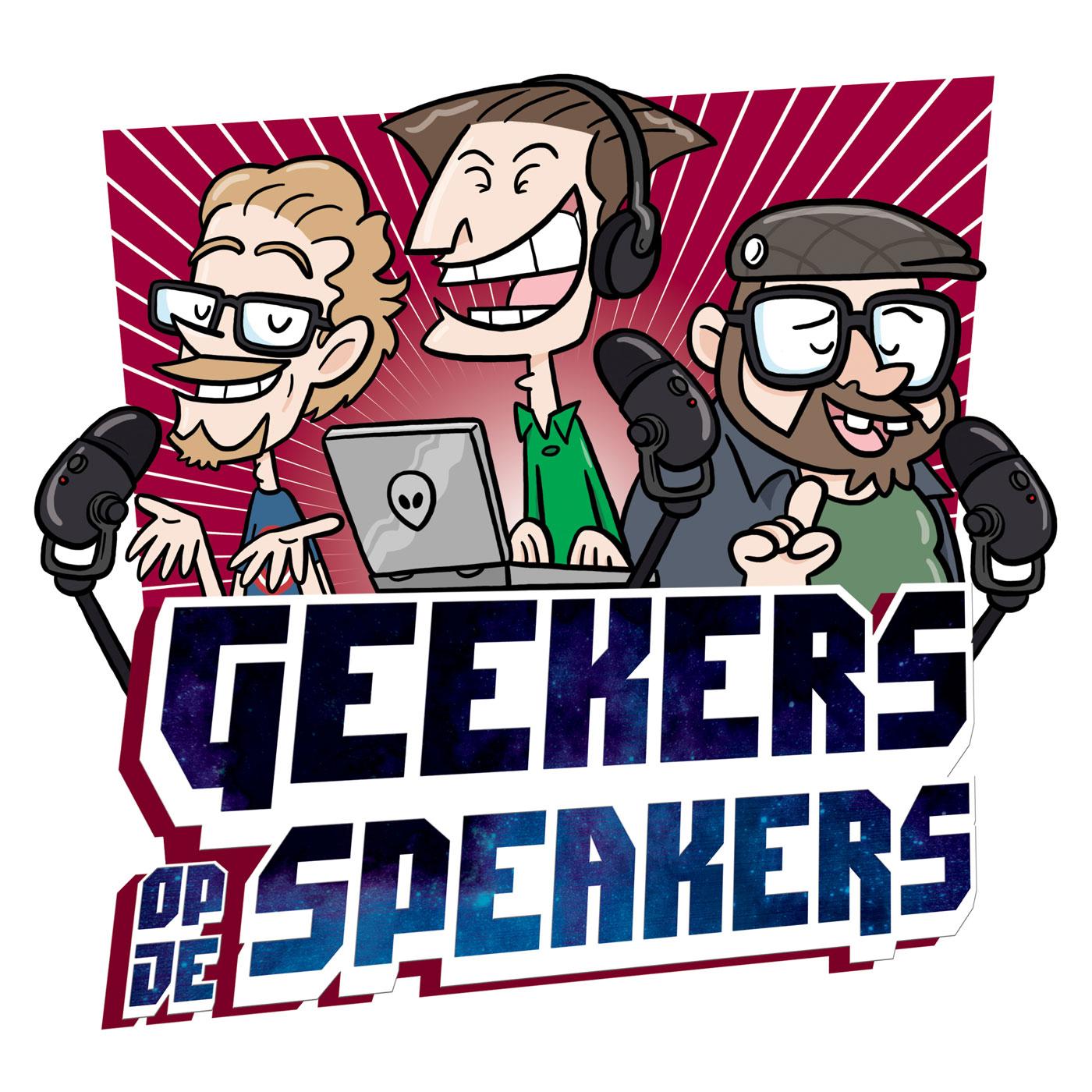 Geekers op je Speakers logo
